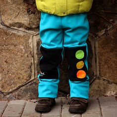 Střih na (nejen) softshellové kalhoty 98 - 116 | Ekozahrada - Blog Petry Macháčkové / Caramilla