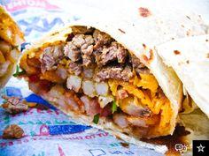 California burrito. I miss life in San Diego.
