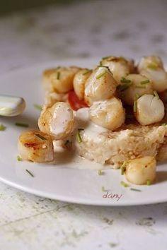 43 Ideas Seafood Stew Scallops For 2019 Tagine Recipes, Chowder Recipes, Seafood Recipes, Cooking Recipes, Healthy Recipes, Seafood Risotto, Seafood Stew, Scallops And Chorizo, Polenta