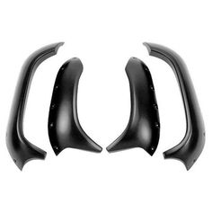 Maier Yamaha Rhino Texture Black 4 Inch Extended Plastic Fender Flares