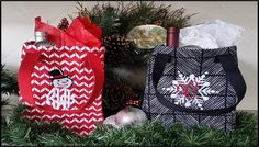 This year, we came across the Thirty-One Gifts Twice as Nice Totes and love the ease and personalization they've brought to the traditional gift bag. Create the perfect bag with a holiday embroidery icon, initials or festive message that fits your special someone. These totes are a fantastic idea for a holiday party hostess gift as well!