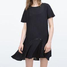 Zara Woman'S Dress Premium Denim Collection