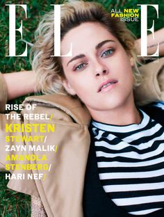 """Kristen Stewart loira pra """"Vogue"""" UK"""