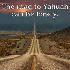Road to Yahuah peace and understanding