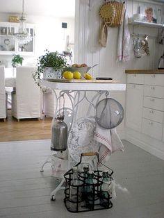 Mesa de apoio para cozinha