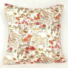 Flowers & Berries Vintage Cushion