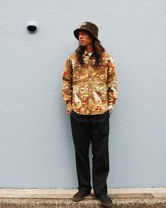 SD Print Frannel Western Shirt.  #standardcalifornia #スタンダードカリフォルニア #westan #shirts