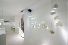 Inarchi stand, Euroluce 2017 #luxury #lighting #design #LED #LEDlamp #minimalist #interior #homedecor #Euroluce #Euroluce2017 #exhibition #Inarchi Led Lamp, Lamps, Luxury Lighting, Lighting Design, Minimalist Interior, Home Decor, Lightbulbs, Light Design, Decoration Home