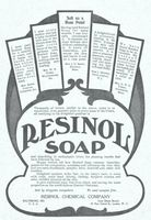Resinol Medicated Soap 1904 Ad Picture