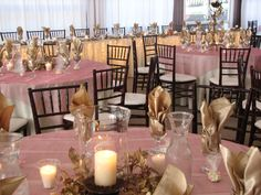 champagne & mauve reception | Mauve and champagne decor- pretty. . . fall ... | Weddings @ Black Hi ...