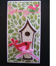 cards made with cricut cartridge stretch your imagination | ... House Rectangle Card #2-Stretch Your Imaginations Cricut Cartridge