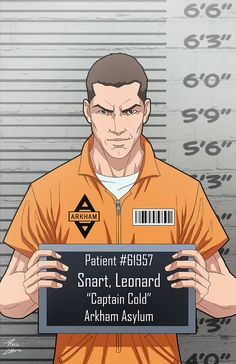 Leonard Snart (Earth-27) commission by phil-cho on DeviantArt