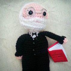 Hello Mr. Sigmund Freud! #crochet #amigurumi #freud #psycoanalysis