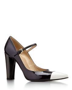 High Heel Mary Janes: Stuart Weitzman