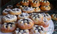 Povidlové koláčky z majonézy | NejRecept.cz Mayonnaise, Slovakian Food, Slovak Recipes, Cheat Meal, Desert Recipes, Doughnut, Sweet Recipes, Sweet Tooth, Deserts