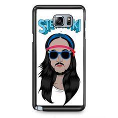 Dj Steve Aoki TATUM-3481 Samsung Phonecase Cover Samsung Galaxy Note 2 Note 3 Note 4 Note 5 Note Edge