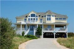 Outer Banks Vacation Rental Six Bedroom House Ocean Front: It's All Relative