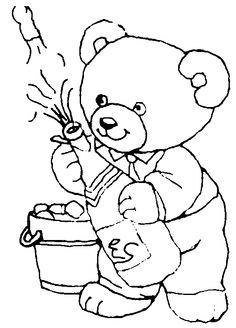 Teddy Bear Malvorlage 676 Alle Ausmalbilder Kostenlos