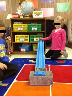 Teach force and motion with marbles and pool noodles. The Techy Teacher