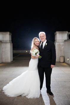 Father-Daughter Wedding Photo at the Legion of Honor in San Francisco