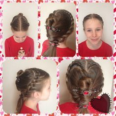 Valentine's Day hair with Lilla Rose! http://lillarose.biz/rrobinson