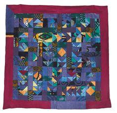 Korak patchwork. Il korak è un quilt con disegni geometrici molto particolare, nato come decorazione per le abitazioni afgane.