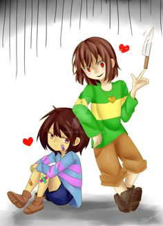 You're Genocide Run. You don't care, they're just creepy monster-thing. Why SHOULD you care? You'd be good friends with Chara...