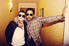 Josh and Lenny.