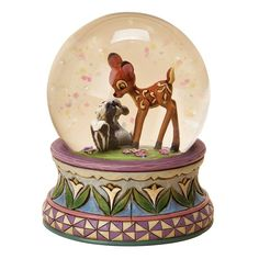 Snow globes contain glass and water. These could damage other contents in the box if they break.