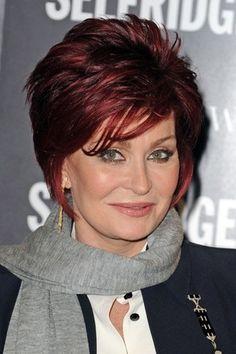 Wie Haben Haare Sharon Osbourne Frisuren Wins Frisur Umfrage Frauenfrisur