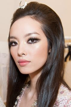 Makeup look for #Chanel Cruise Dubai 2014/15 by Tom Pecheux #chanelcruisedubai