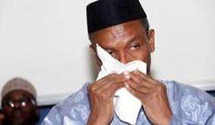 Governor Nasir El-Rufai of Kaduna state has lost his elder brother, retired AVM Aliyu Ahmed El-Rufai. Crying Man, Brother, Lost, News