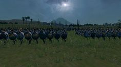 The men of Karthago will fight for the king Hannibal an die for him! Total War Rome 2 Emperor Edition