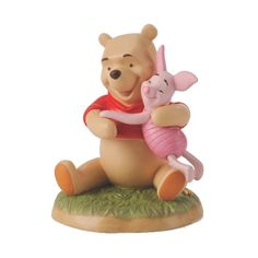 Amazon.com - Disney Pooh Hugging Piglet - Toys And Games Hundred Acre Woods, Disney Figurines, Pooh Bear, Winnie The Pooh, Diy Projects, Teddy Bear, Amazon, Games, Toys