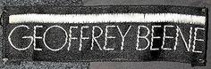 1960s Geoffrey Beene Label Metropolitan Museum of Art, NY*