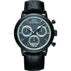 Mens 88 Rue Du Rhone Double 8 Origin 45mm Chronograph Watch 87WA130021