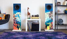 Urban Fidelity Art Speakers Add the Element of Sight to Sound