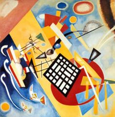 Wassily Wassilyevich Kandinsky was an influential Russian painter and art theorist. He is credited with painting the first purely abstract works. Born in Moscow, Kandinsky spent his childhood in Odessa. Art Kandinsky, Wassily Kandinsky Paintings, Art Bauhaus, Bauhaus Style, Milwaukee Art Museum, Fine Art Prints, Canvas Prints, Canvas Art, Oil Painting Reproductions