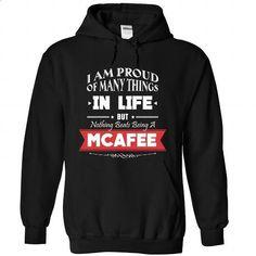 MCAFEE-the-awesome - custom tee shirts #geek tshirt #maroon sweater
