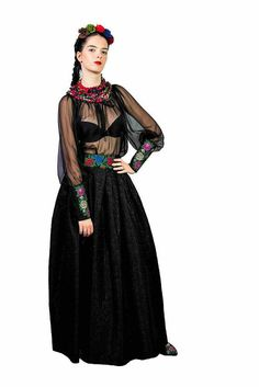gypsy jupe fleur noire gypsy jupe folk fleur jupe russe impression
