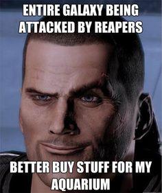 Mass Effect logic