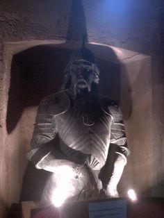 Iancu de Hunedoara, Sala armelor, Castelul Huniazilor, Hunedoara, Romania