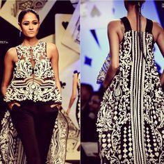 Pankaj&Nidhi, nosso casal de estilistas mais do que queridos e talentosos, causaram comoção no Indian Fashion Week!