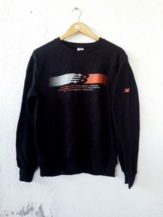 "New Balance Sweatshirt Jumper Pullover Size L|Measurement details; armpit: 21"" inches