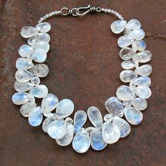 moonstone necklace~wear during mooncycle, and it will help you feel good during that time of the month