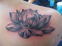 Black And White Lotus Flower Tattoo For Men Ink on pinterest lotus ...