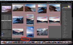 Donde seleccionar como ordenar las imágenes que se nos están mostrando en este momento