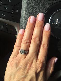 SNS nails, pale pink #121 ❤️