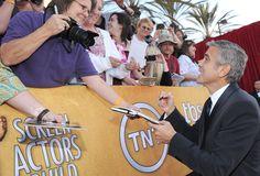 George Clooney at the SAG Awards!