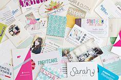 DIY Business Card Organization - IHeart Organizing